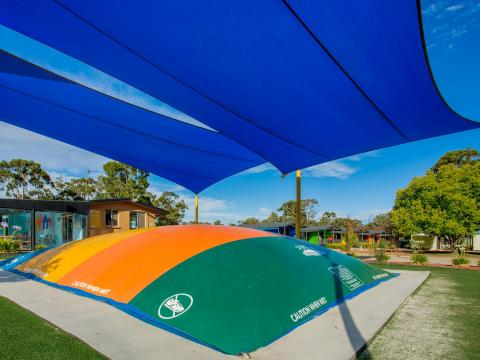 BIG4 Bendigo Park Lane Holiday Park - Jumping Cushion