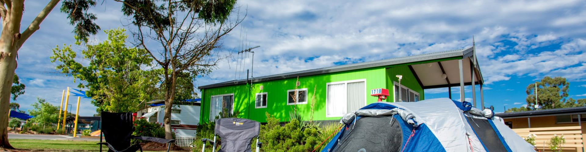 BIG4 Bendigo Park Lane Holiday Park - Unpowered Site