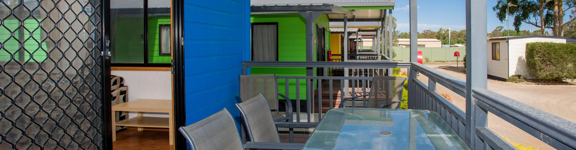 BIG4 Bendigo Park Lane Holiday Park - 2 Bedroom Villa Veranda