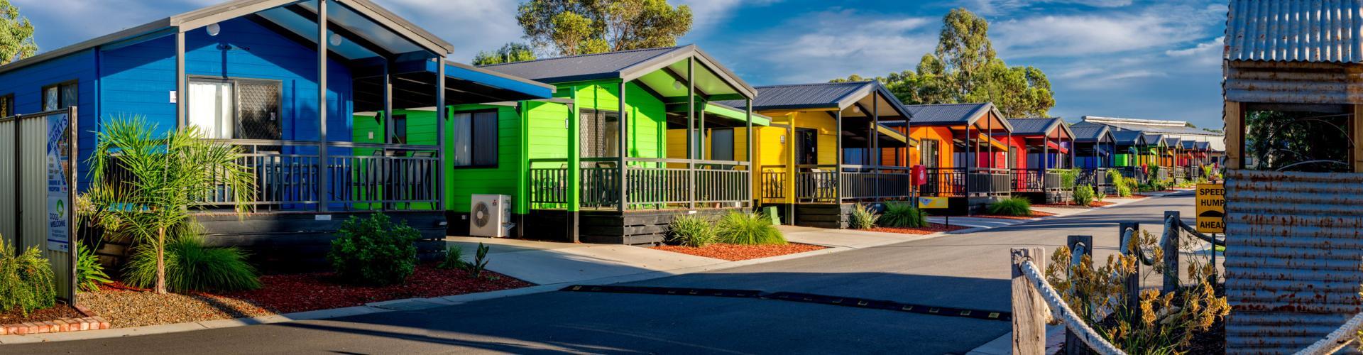 BIG4 Bendigo Park Lane Holiday Park - Cabin Accommodation