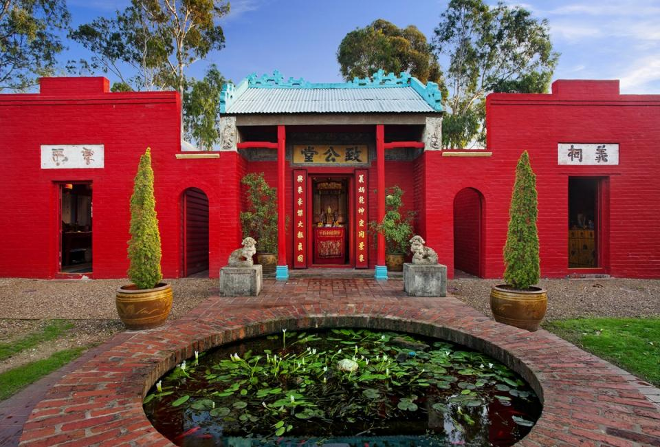 BIG4 Bendigo Park Lane Holiday Park - Things to do - Joss House Temple 3