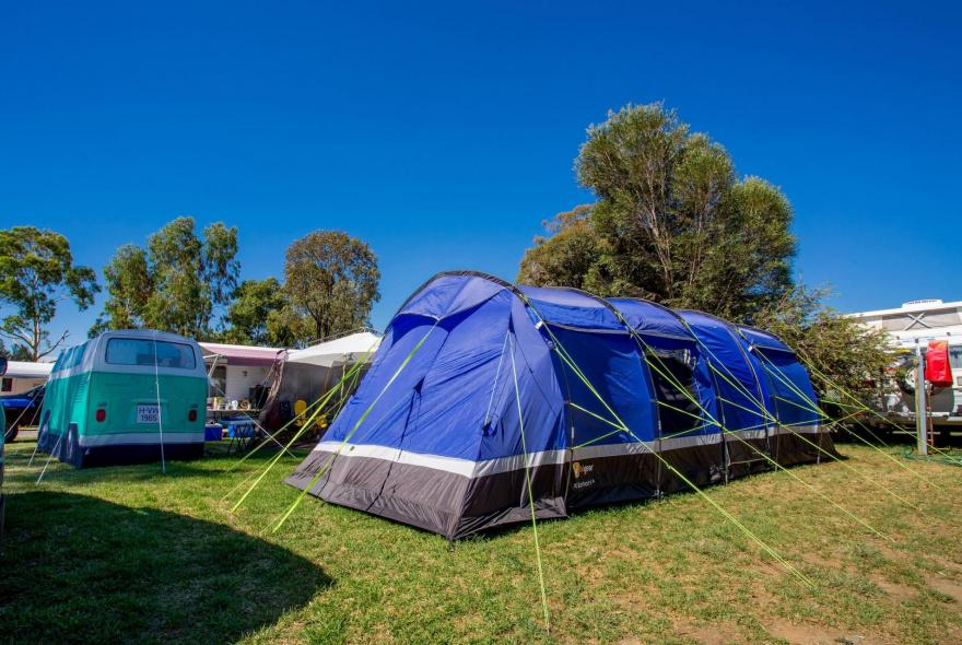 BIG4 Shepparton Park Lane Holiday Park - Powered Site - with Tent