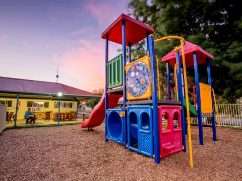 BIG4 Shepparton Park Lane Holiday Park - Outdoor Playground