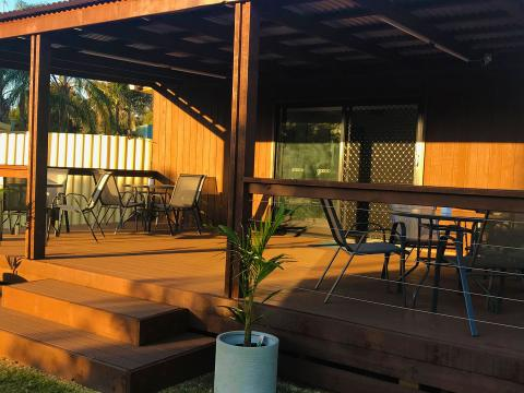 BIG4 Shepparton Park Lane Holiday Park - Coffee Deck