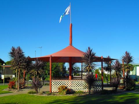 BIG4 Shepparton Park Lane Holiday Park - Gazebo
