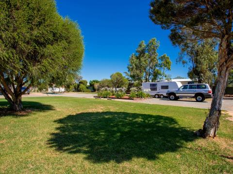 BIG4 Shepparton Park Lane Holiday Park - Powered Sites - Grassed area