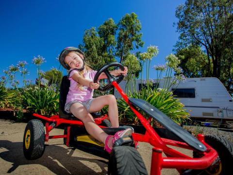 BIG4 Shepparton Park Lane Holiday Park - Pedal Go-Karts