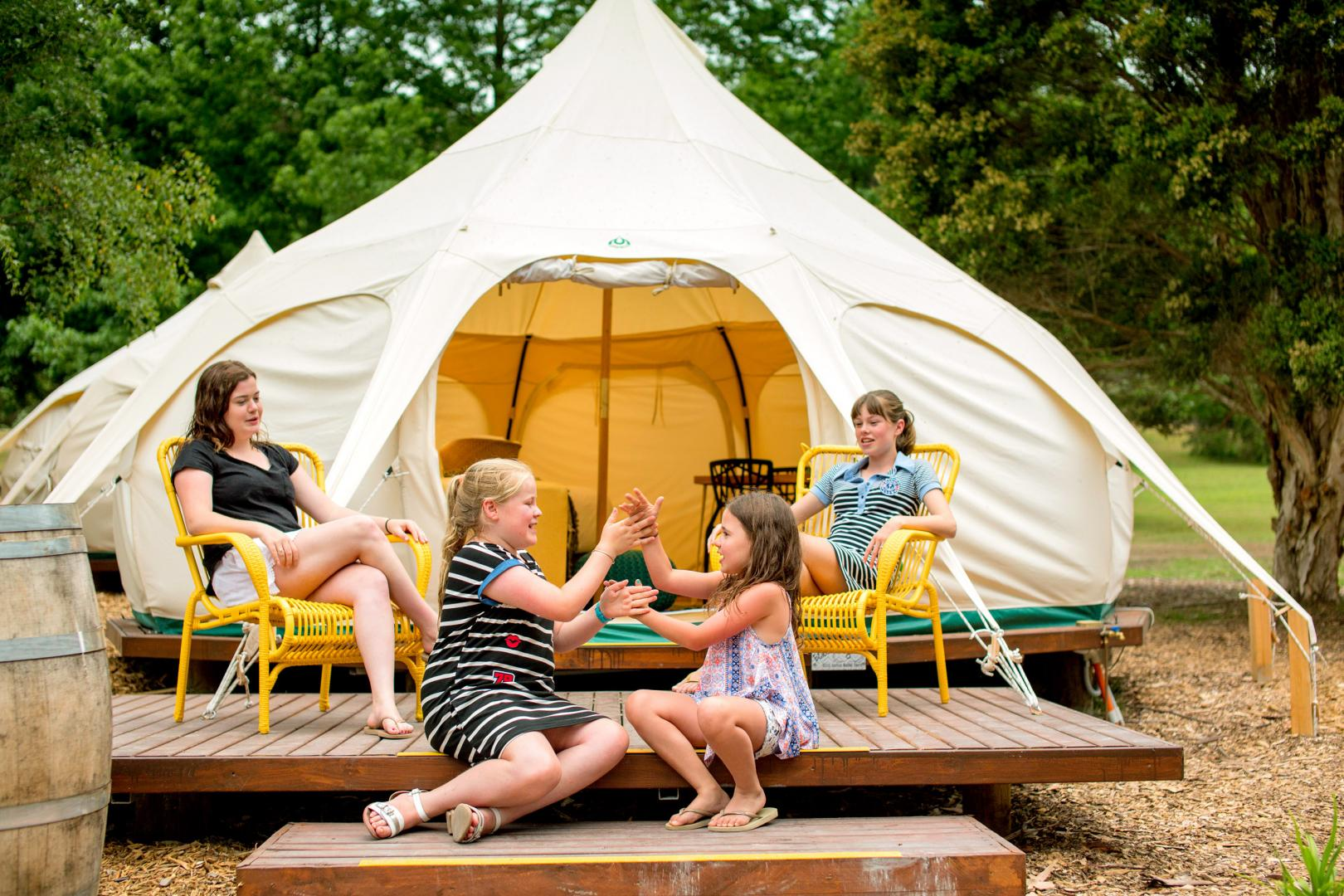BIG4 Yarra Valley Park Lane Holiday PArk Glamping Accommodation