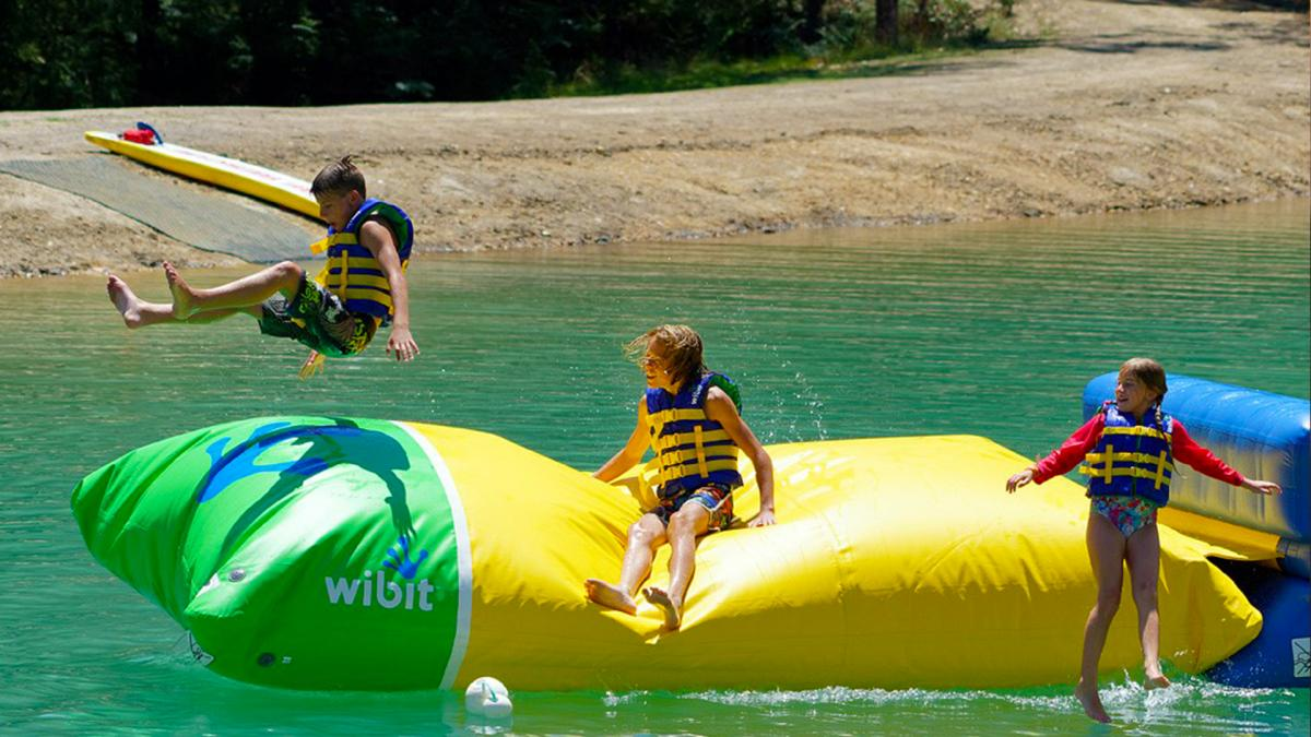 BIG4 Yarra Valley Park Lane Holiday Park - Parky's Water Park - The Launch