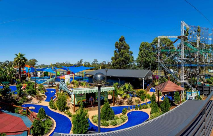 BIG4 Traralgon Park Lane Holiday Park - Parky's Fun Park