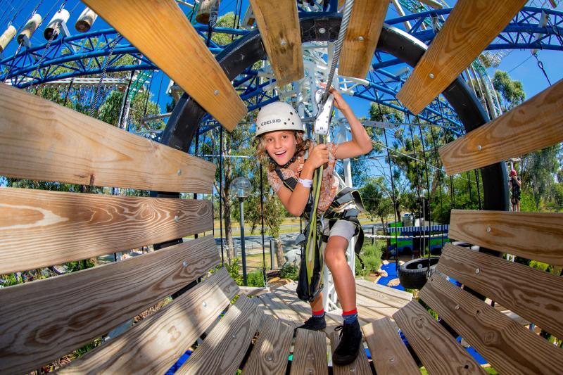 BIG4 Traralgon Park Lane Holiday Park - Adventure Ropes Course