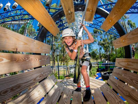 BIG4 Traralgon Park Lane Holiday Park - Adventure Ropes Course