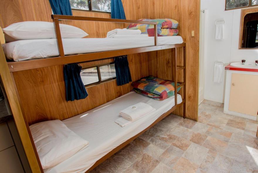 BIG4 Traralgon Park Lane Holiday Park - Budget Accommodation - Sleeps 4 - Bunk Beds
