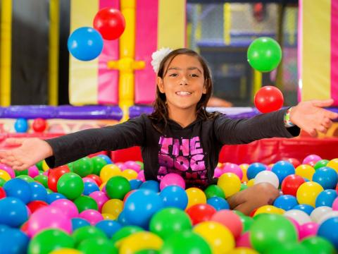 BIG4 Traralgon Park Lane Holiday Park - Parky's Wonderland - Ball Pit