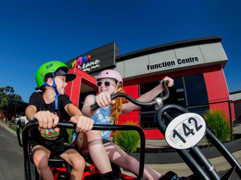 BIG4 Traralgon Park Lane Holiday Park - Kids on Pedal Go-Kart