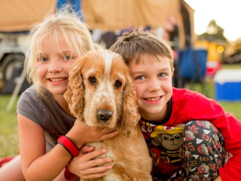 BIG4 Traralgon Park Lane Holiday Park - Kids with Dog