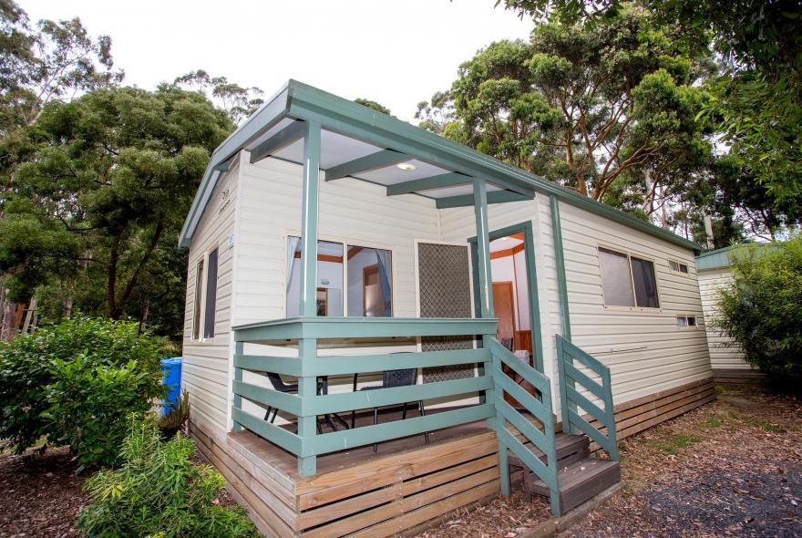 BIG4 Yarra Valley Park Lane Holiday Park - Parkside Cabin - 2 Bedroom - Front Veranda