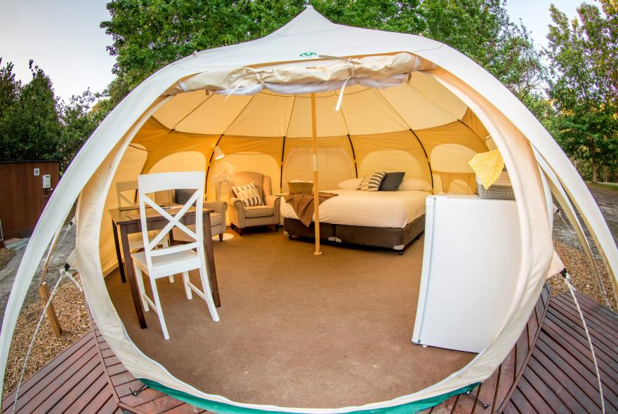 BIG4 Yarra Valley Park Lane Holiday Park - Glamping - Belle Tent - Single - Provincial
