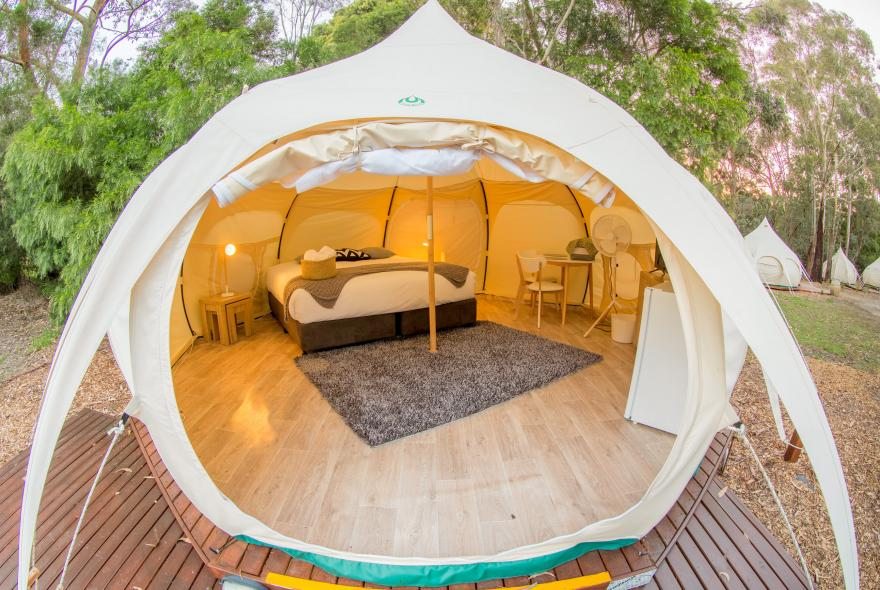 BIG4 Yarra Valley Park Lane Holiday Park - Glamping - Belle Tent - Single - Scandanavian