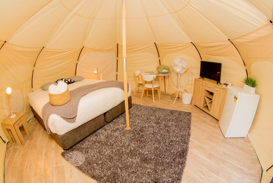 BIG4 Yarra Valley Park Lane Holiday Park - Glamping - Belle Tent - Single - Style Option 1
