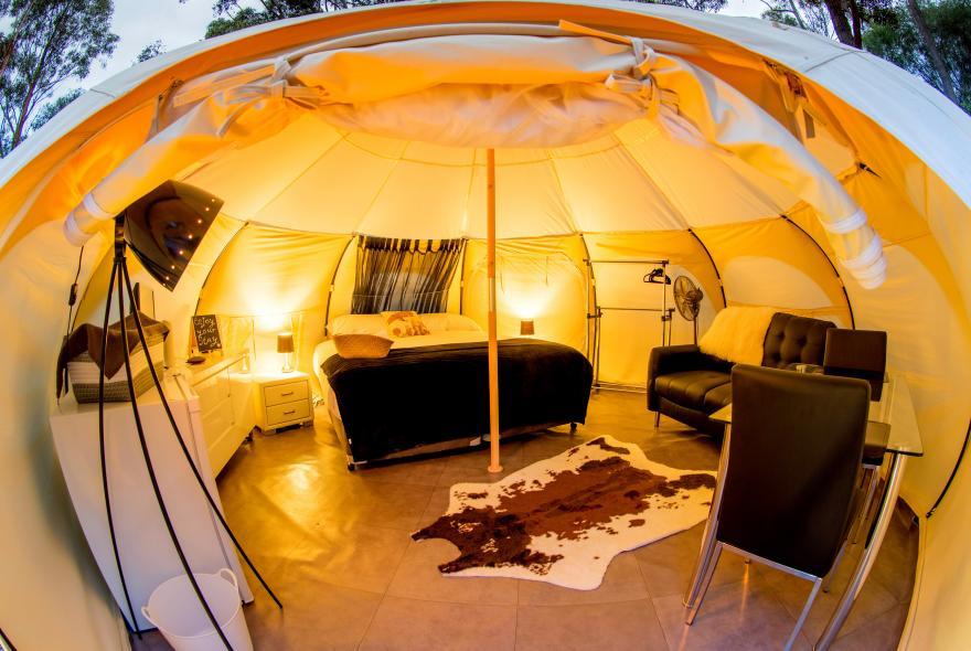 BIG4 Yarra Valley Park Lane Holiday Park - Glamping - Belle Tent - Single - Vouge