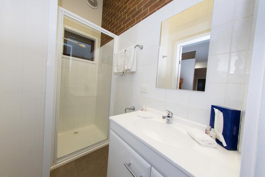 BIG4 Yarra Valley Park Lane Holiday Park - Hilltop Studio - Bathroom