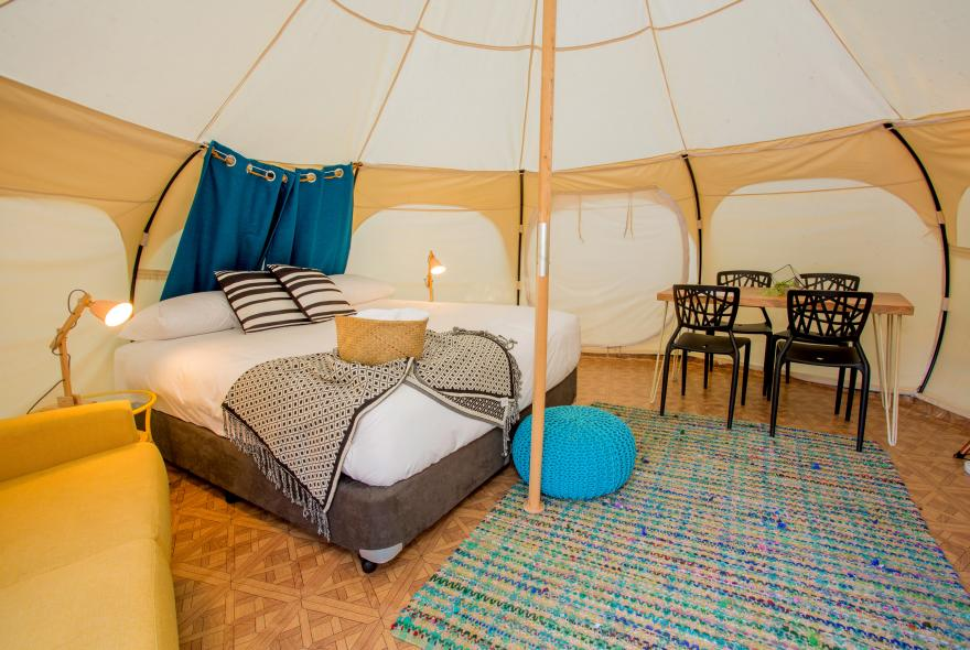 BIG4 Yarra Valley Park Lane Holiday Park - Glamping - Belle Tent - Family - Main Tent Style