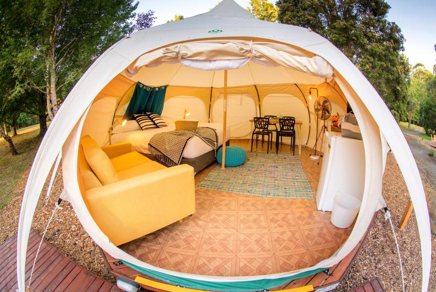 BIG4 Yarra Valley Park Lane Holiday Park - Glamping - Belle Tent - Family