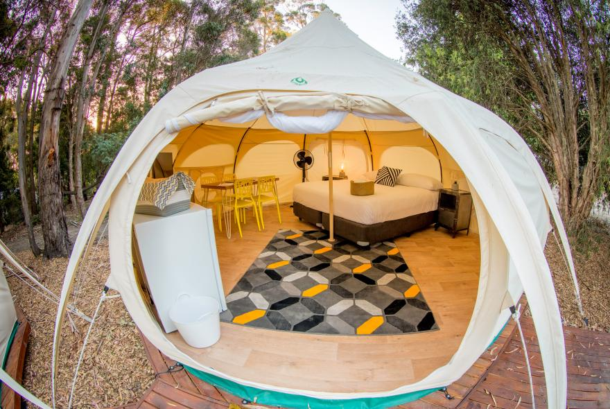 BIG4 Yarra Valley Park Lane Holiday Park - Glamping - Belle Tent - Family - Outside Image