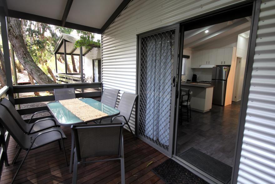 BIG4 Yarra Valley Park Lane Holiday Park - Family Cabin - 2 Bedroom - Veranda
