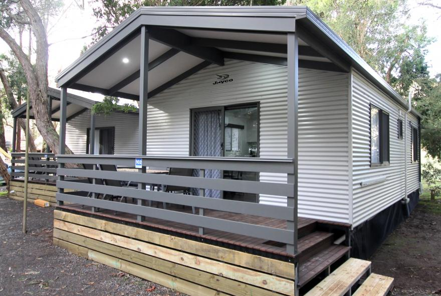 BIG4 Yarra Valley Park Lane Holiday Park - Family Cabin - 2 Bedroom - Front