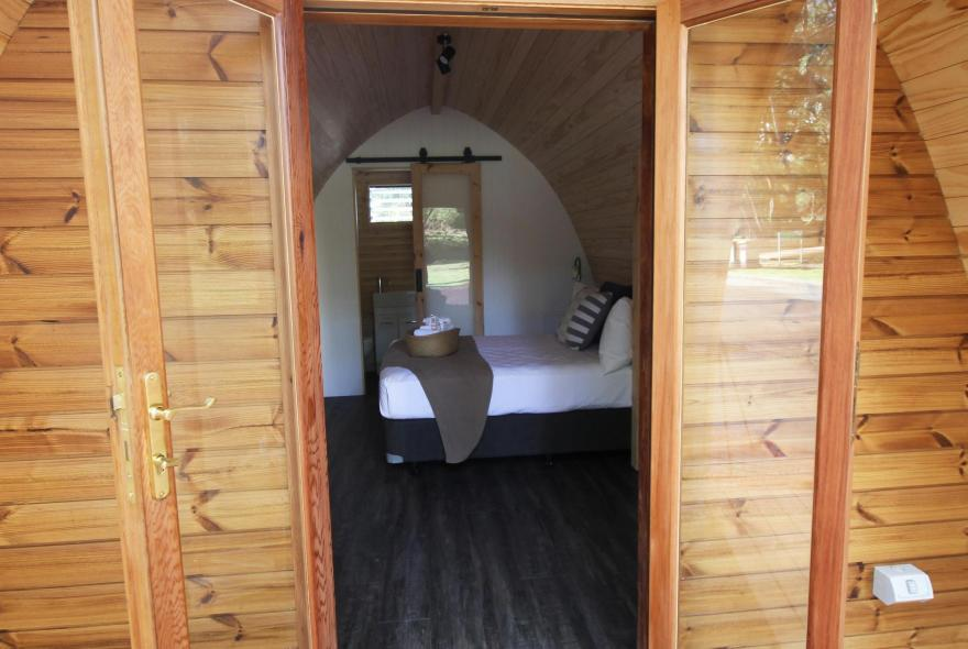 BIG4 Yarra Valley Park Lane Holiday Park - Glamping - Pod with Ensuite - Front Doors