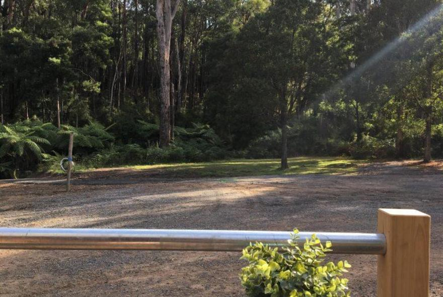 BIG4 Yarra Valley Park Lane Holiday Park - Glamping - Pods - View from Veranda