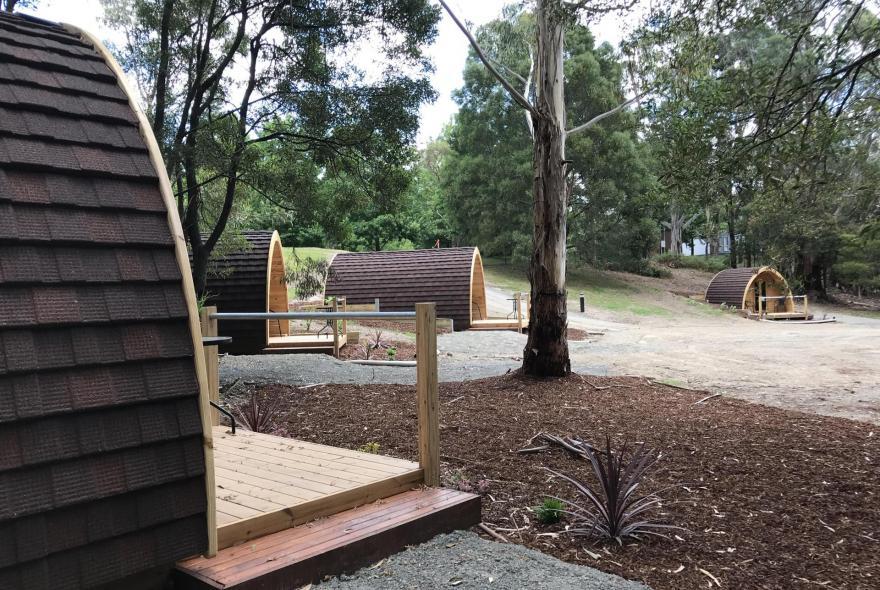BIG4 Yarra Valley Park Lane Holiday Park - Glamping - Pods - Precinct