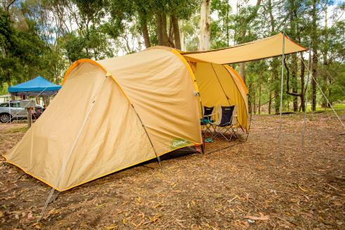BIG4 Yarra Valley Park Lane Holiday Park - Power Tent and Camper Trailer Sites - Tent Set Up