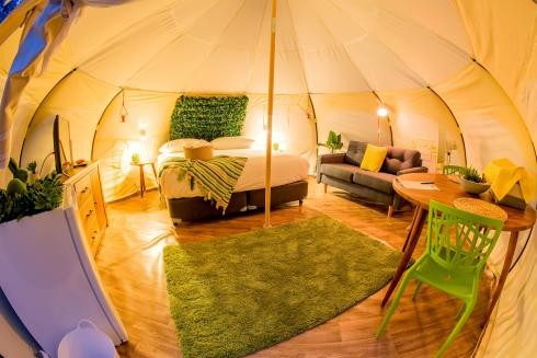 BIG4 Yarra Valley Park Lane Holiday Park - Glamping - Belle Tent - Single - Natural