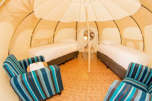 BIG4 Yarra Valley Park Lane Holiday Park - Glamping - Belle Tent - Family - Second Tent