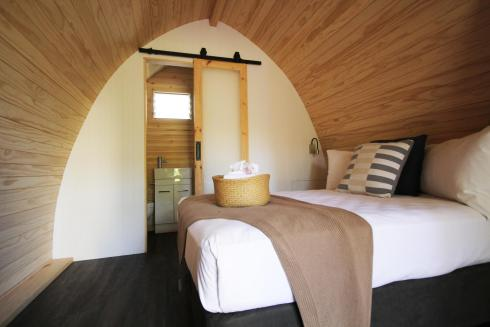 BIG4 Yarra Valley Park Lane Holiday Park - Glamping - Pod with Ensuite - Bed