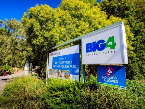 BIG4 Yarra Valley Park Lane Holiday Park - Entrance Sign