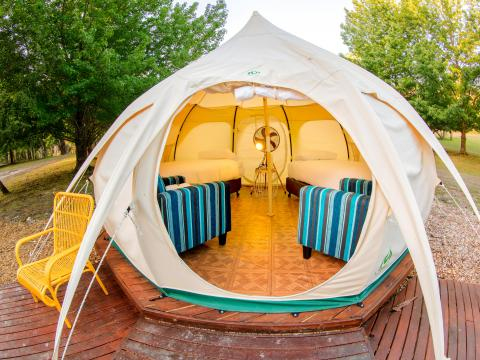 BIG4 Yarra Valley Park Lane Holiday Park - Glamping Belle Tent - Second Tent - Interior