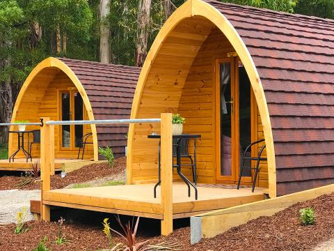 BIG4 Yarra Valley Park Lane Holiday Park - Glamping Pod - Front