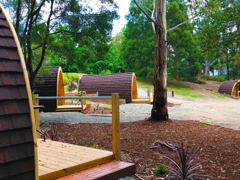 BIG4 Yarra Valley Park Lane Holiday Park - Glamping Pod - Precinct
