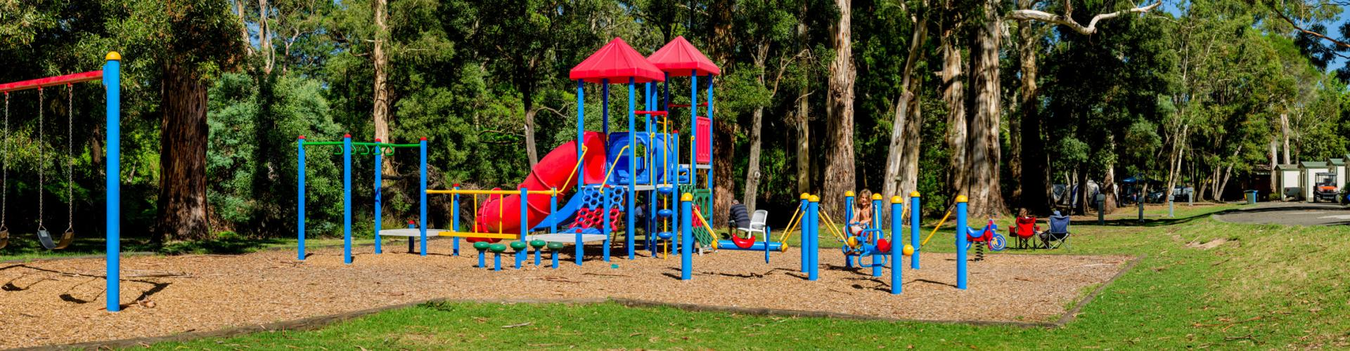 BIG4 Yarra Valley Park Lane Holiday Park - Outdoor Playground Panoramic View